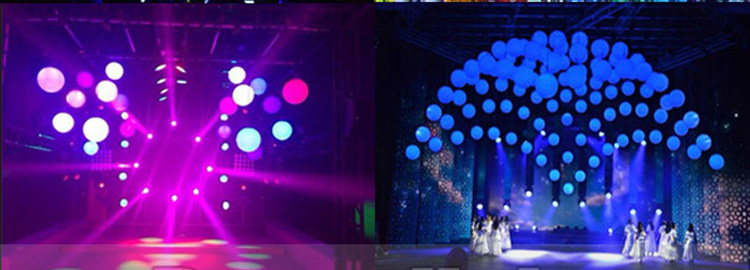 DMX LED Lift Color Ball / Decorating Lighting / Christmas Lighting