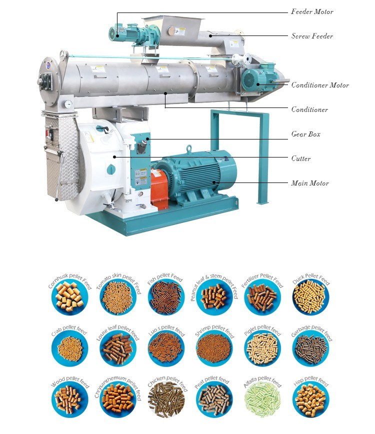 Competitive Cattle Feed Processing Machine China Manufacturer