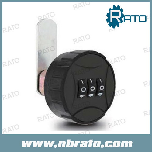 Round Combination Lock for Locker