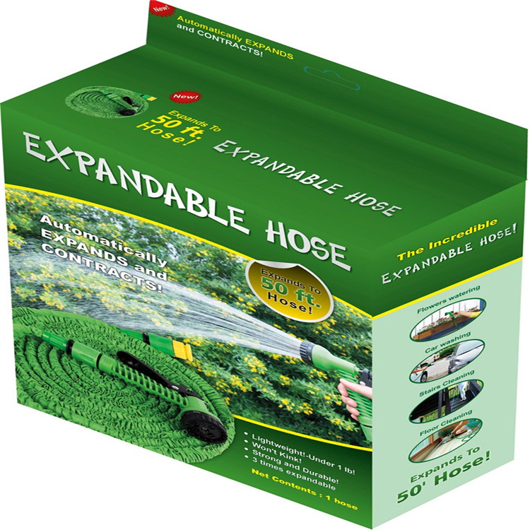 High Quality Flexible Rubber Garden Hose/Expandable Garden Hose