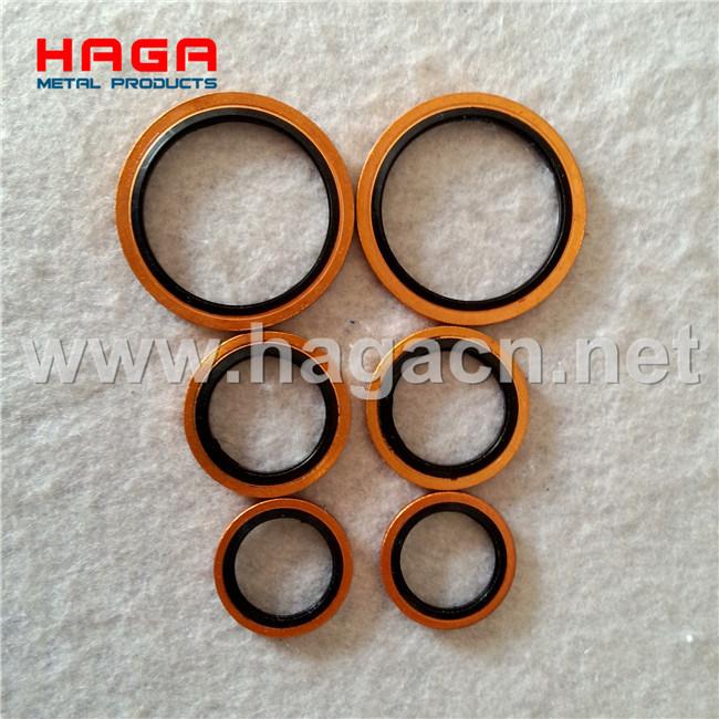 Metric Bsp Standard Hydraulic Rubber Metal Seals