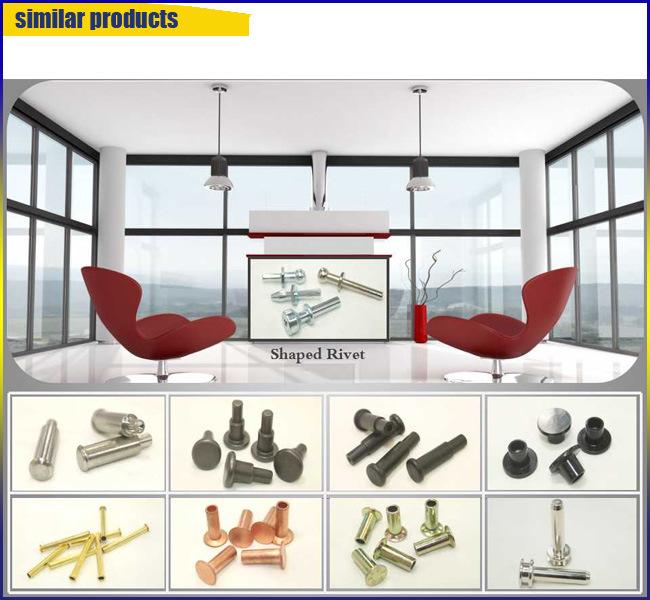 OEM Fashion Copper Semi-Tubular Rivets