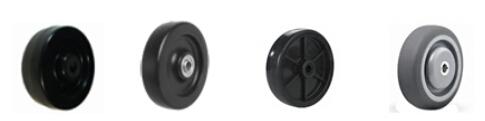 Medium Duty PU Wheel Casters with Full Brake