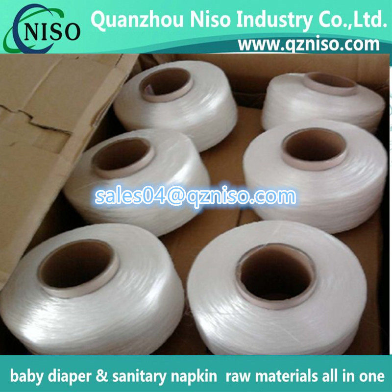 China Wholesale High Quality Spandex for Baby Diaper Raw Material