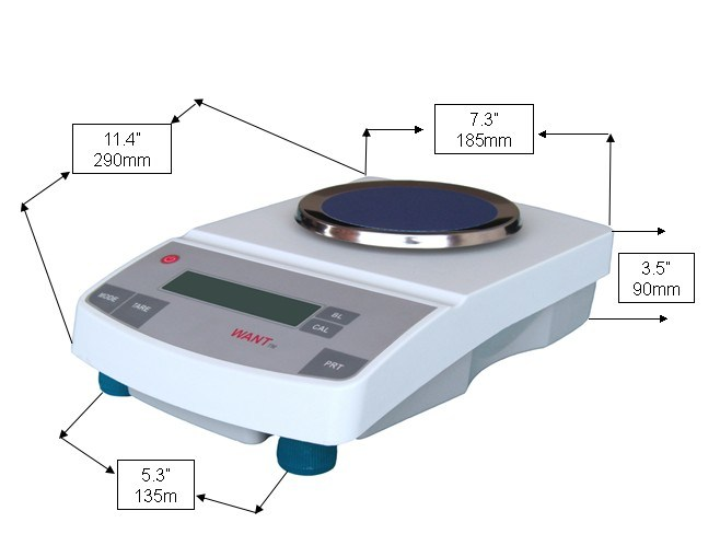 Weight Balance Scale (1000g/1100g/1200g*0.01g)