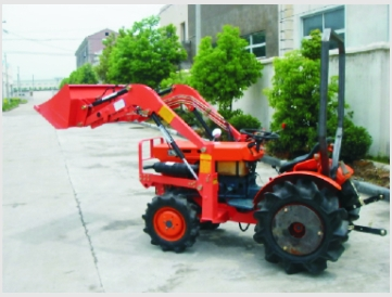Japanese Tractors Mini Front End Loader with Hydraulic Cylinder