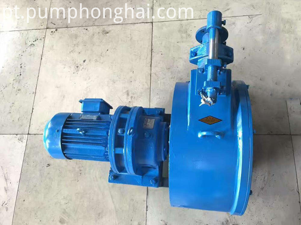 High Solid Particles Peristaltic Hose Pump