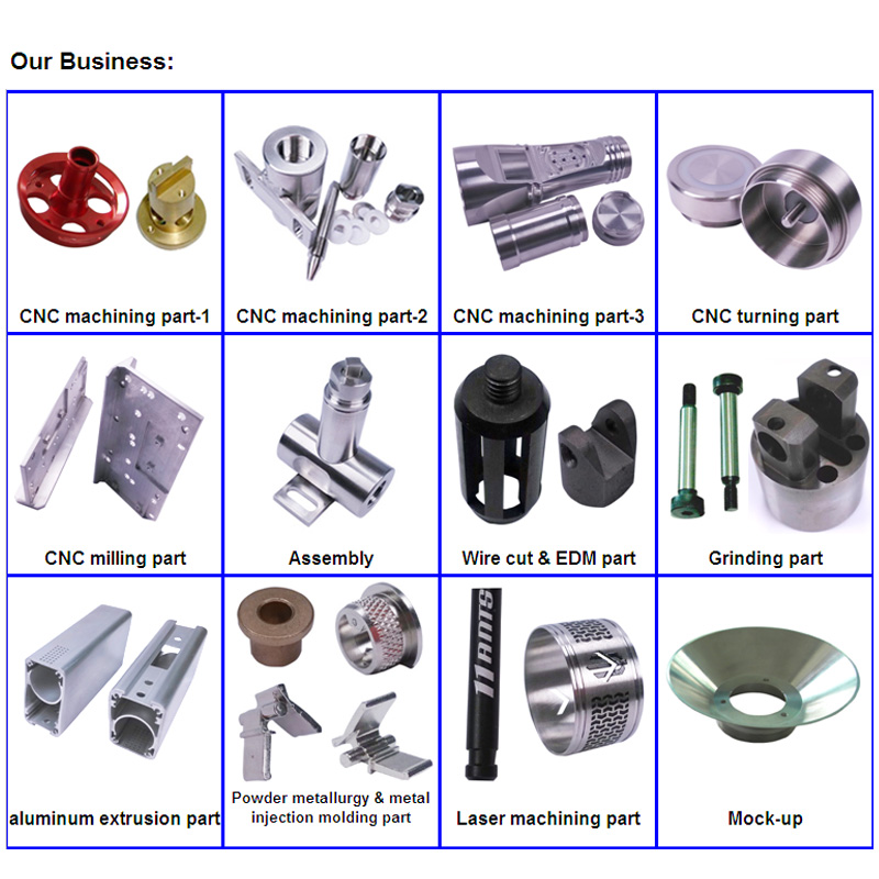 CNC Machined Parts of Holder Shaft