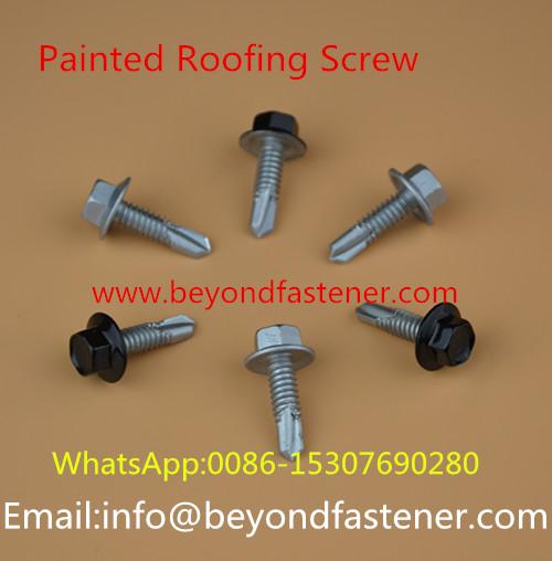 Dacromet Screw Roofing Bolts Bi-Metal Screw