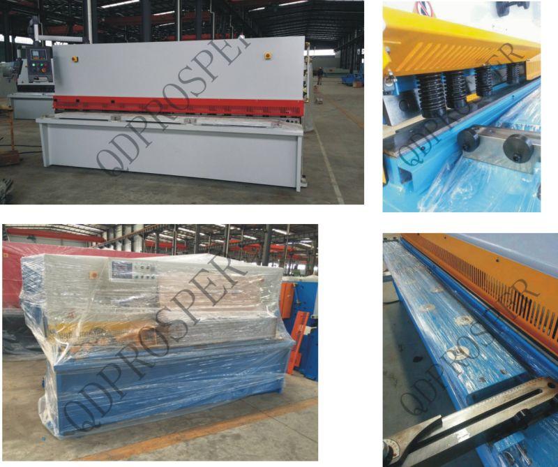 Ce TUV Hydraulic Metal Swing Beam Guillotine Machine (QC12Y)