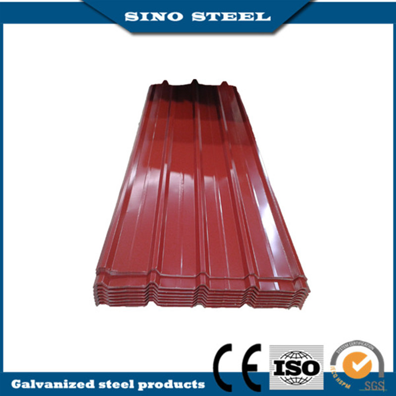 0.40*914 Prepainted Steel PPGI Corrugated Roofing Sheet