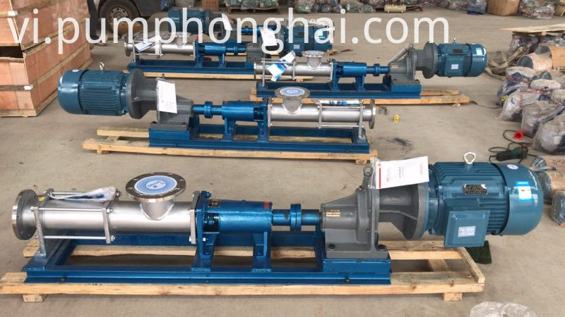 Food Grade Single Screw Pump