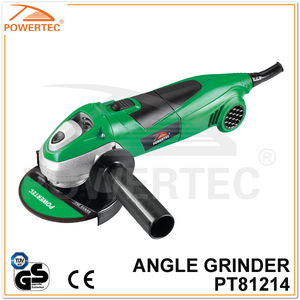 Powertec CE GS 900W Electric Angle Grinder (PT81214)