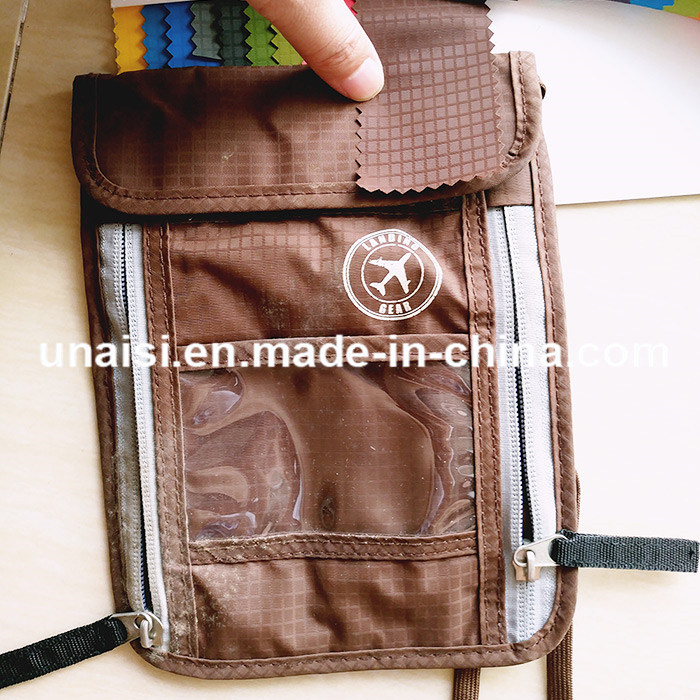 Theft Protection Hidden RFID Passport Holder Neck Travel Wallet