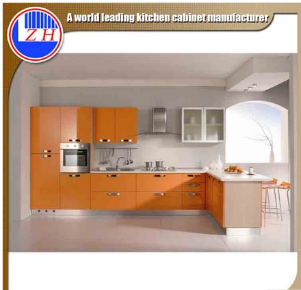 DIY Hanging Kitchen Cabinets with Lacqure Surface (ZHUV)