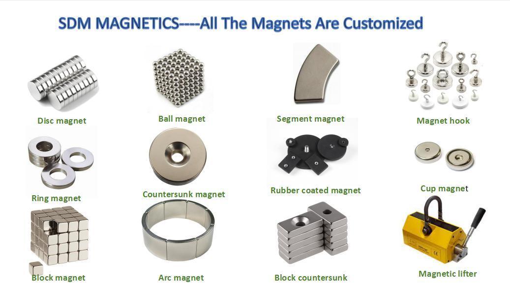 High Quality N30 Neodymium Block Magnet