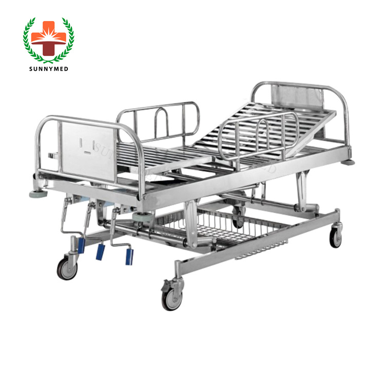 Sy-R016 Three Crank Rescue Bed Hospital Medical Bed