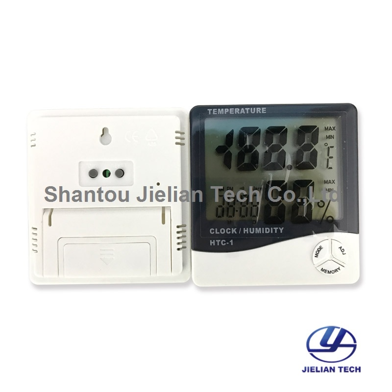 HTC-1 Digital LCD Temperature Humidity Meter Thermometer