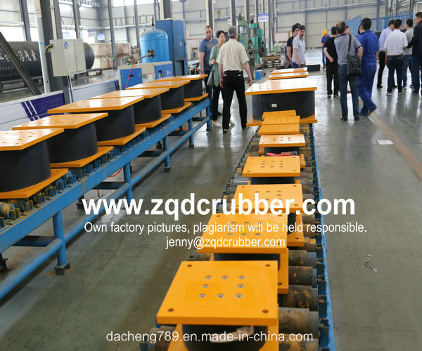 Bridge Construction High Damping Rubber Bearings