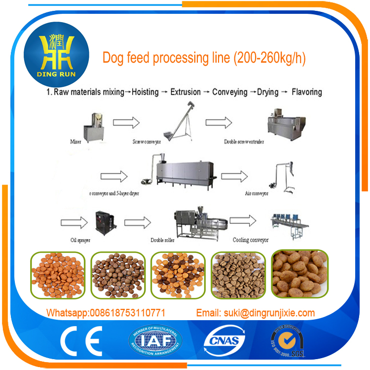 poultry feed manufacturing machine pet food machine