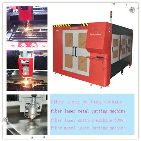 Fiber Laser Cutting Machine Suit for Metal (RJ1530-500W)