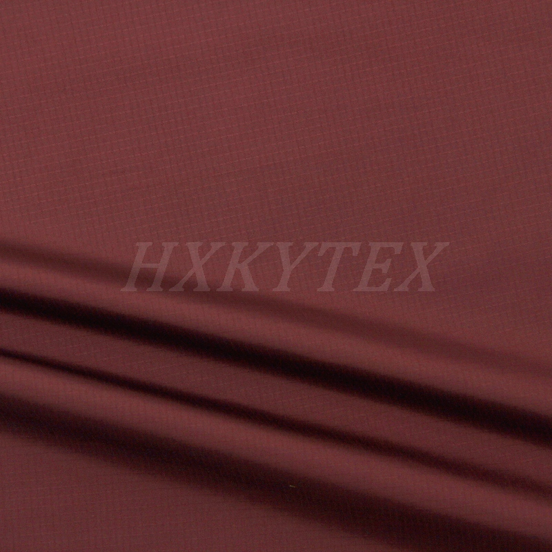 Two Cord Weave Checks Jacquard Polyester Fabric for Jacket