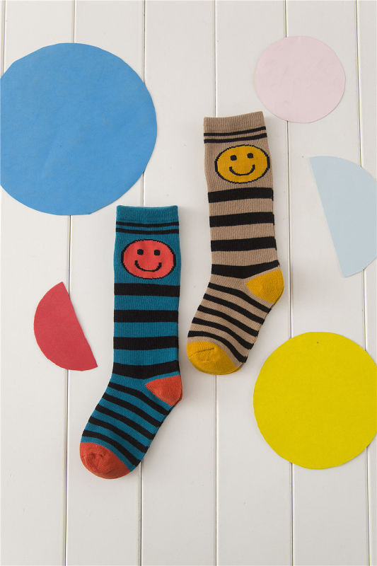 Smile Face Cute Girl Fashion Cotton Stocking Fashion Pattern Cotton Legging