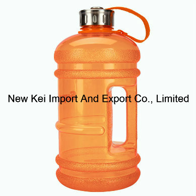 New Wave Enviro Eastar Resin Bottle, PETG 2.2 Liter Plastic Water Bottle