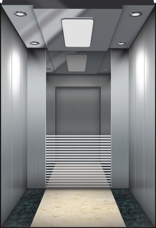 Small Machine Room Passenger Elevator Running Stable OEM Provided