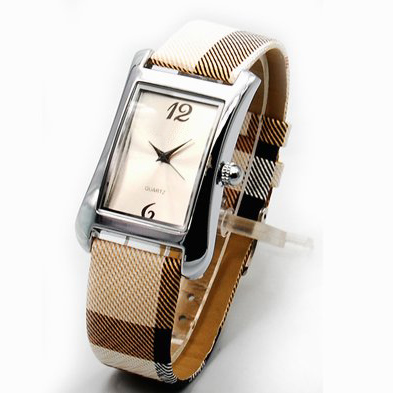 High Quality Leather Watch (HAL-1210)