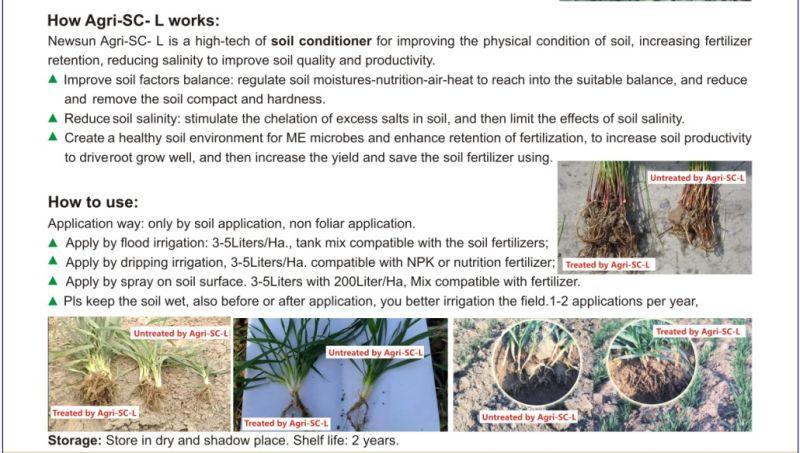 Agri-Sc Soil Conditioner Liquid Form