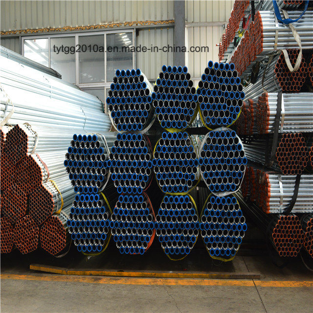 2 Inch 2'' Sch 20 Sch 40 Steel Tube Hot Dipped Galvanized Steel Pipe Manufacturer Made in China
