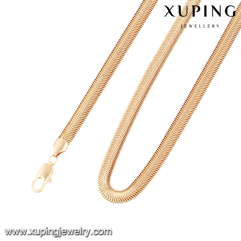 43085 Fashion Cool 18k Gold Snake Jewelry Necklace in Metal Alloy