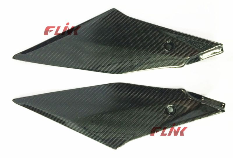 Motorycycle Carbon Fiber Parts Tank Side Panel for YAMAHA R1 2015
