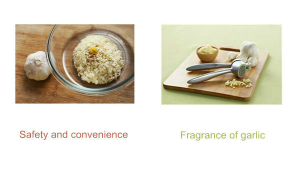 Classic Kitchen Implements Garlic Press for Garlic Granules