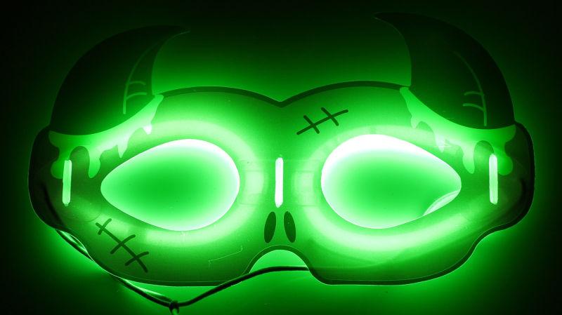 Fashion Holloween Glow Mask