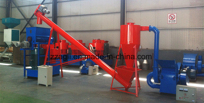 2018 Ring Die Biomass Granulator Dry Grass Pelletizer Machine