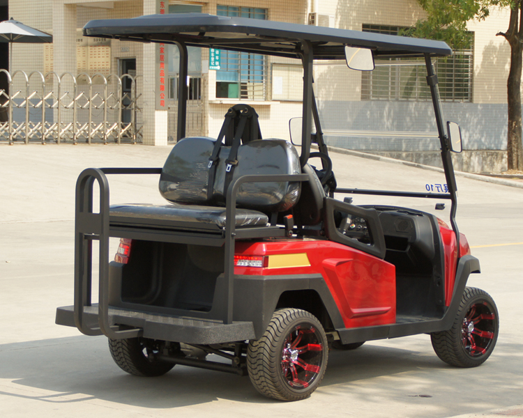 New Design 4 Seater Electric Golf Shopping Cart with Foldable Seat