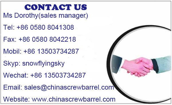 Single Screw Barrel for Recycling Machine