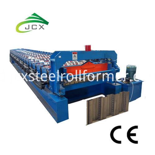 3inch Komposit Decking Sheet Roll Forming Machine-Floor Deck Machine