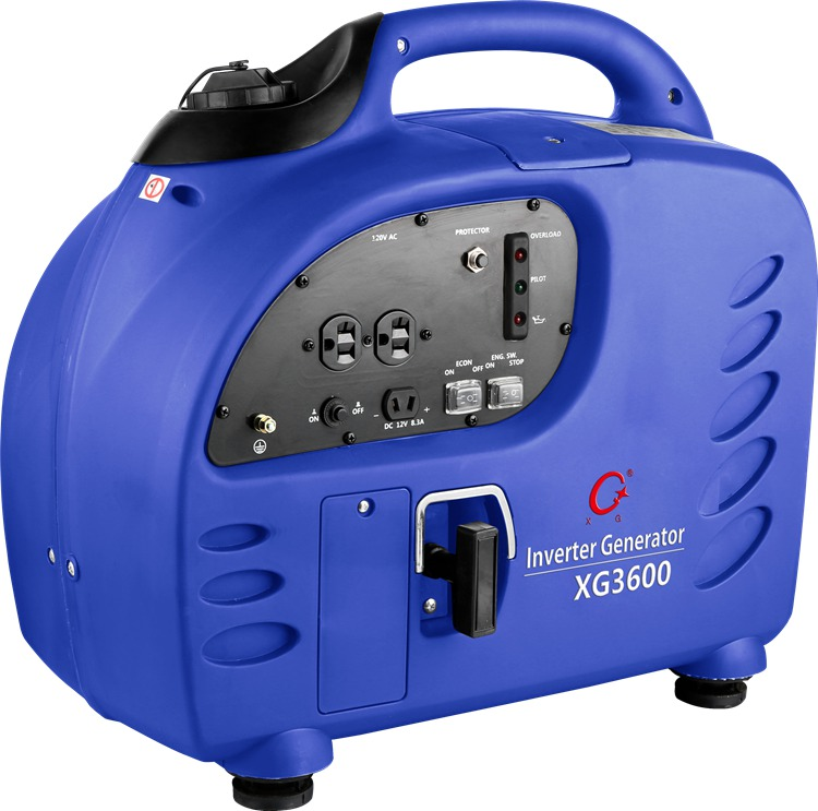 3600W 3.6 Kw Gasoline Digital Inverter Generators (XG3600)