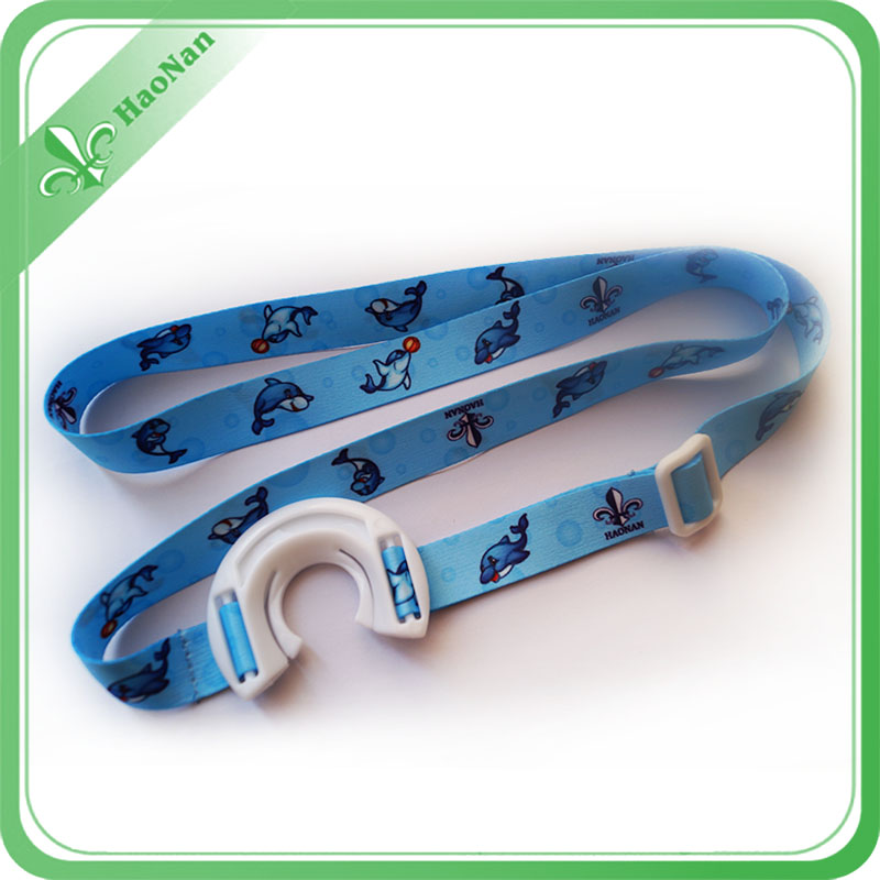 Cheap Price Double Side Sublimation Printed Lanyard with Water Bottle Holder