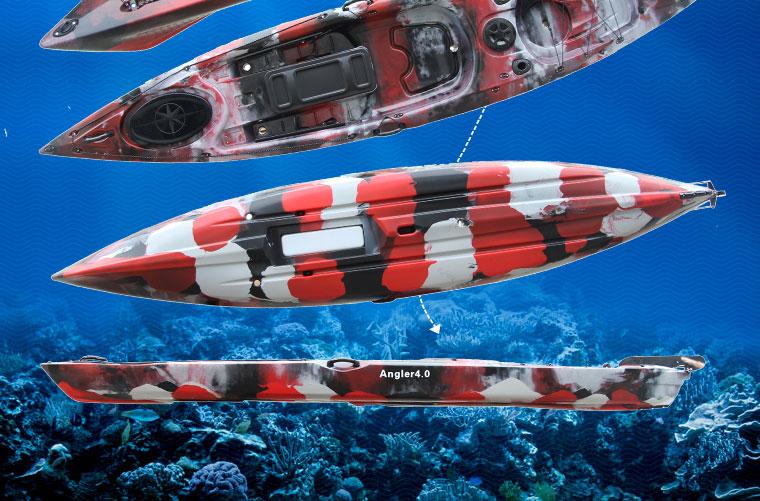 Angler4.0 Llepe HDPE Professional Fishing Kayak