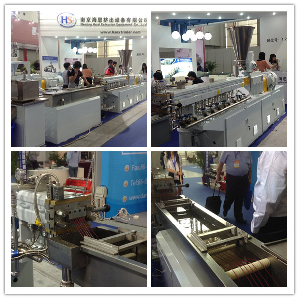 Euro Quality PP PE PS PA Color Filler Plastic Granules Machine