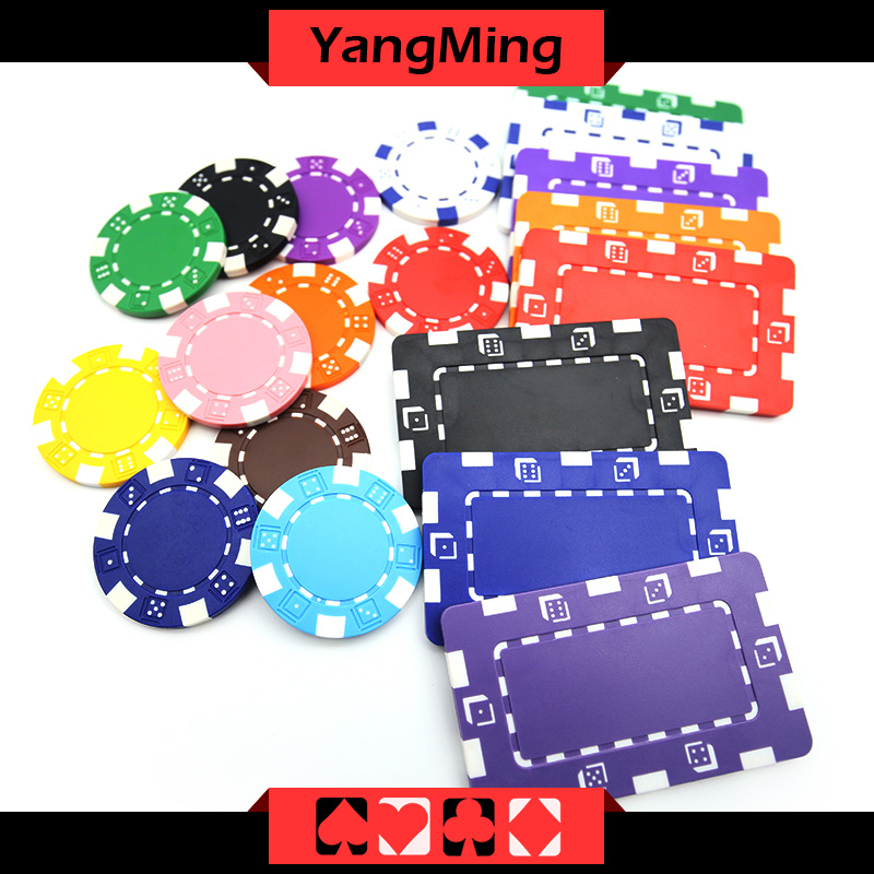 11.5g Dice Casino Poker Chip (YM-CP024-25)