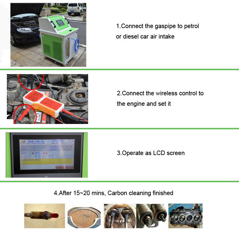 Fuel Cleaning System Auto Engine Cleaner Car Engine Clean Machine