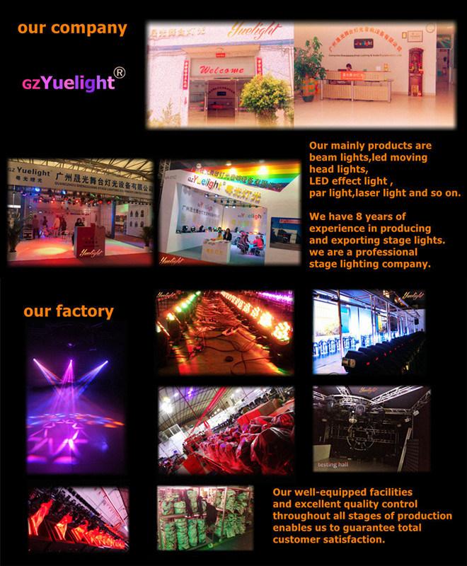 8PCS Full Color Matrix LED Moving Head Light
