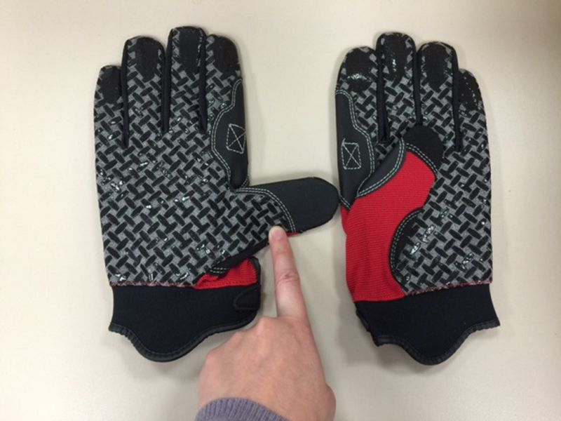 Mechanic Glove-Silicon Gel PAM Glove-Working Glove-Hand Protected-Safety Glove