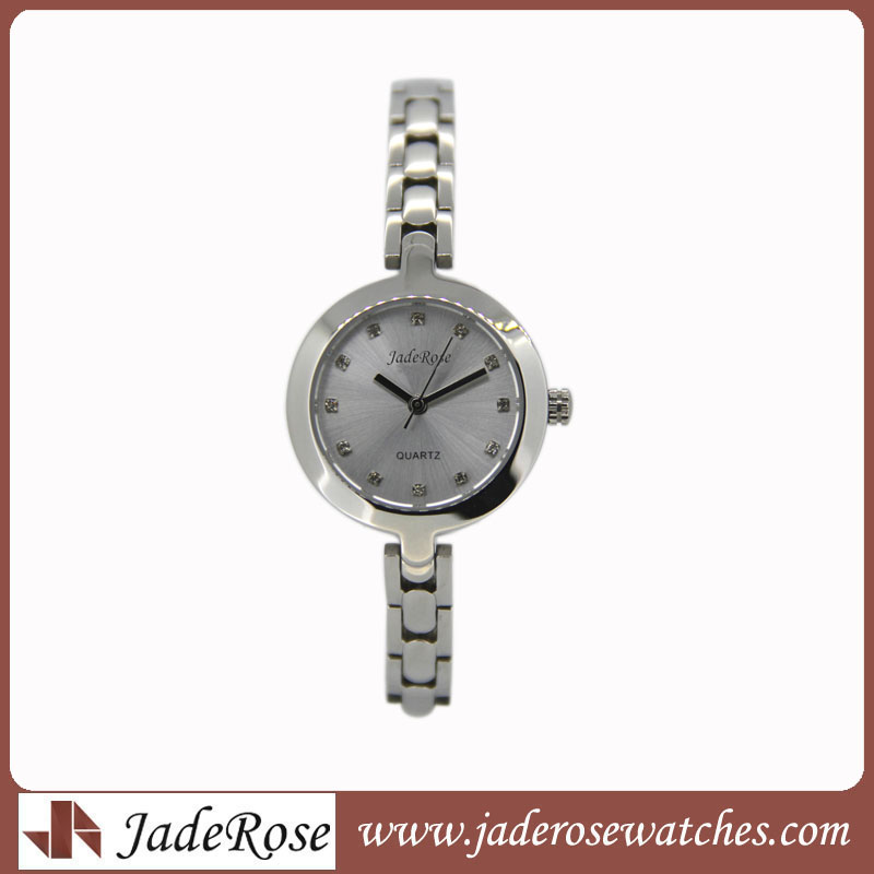 Fashion Bracleet Lady's Watch. High Quality Stainless Steel Watch