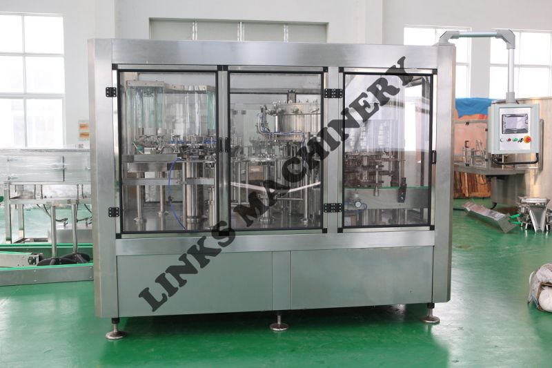 Automatic Carbonated Soda Beverage Bottle Filling Machine